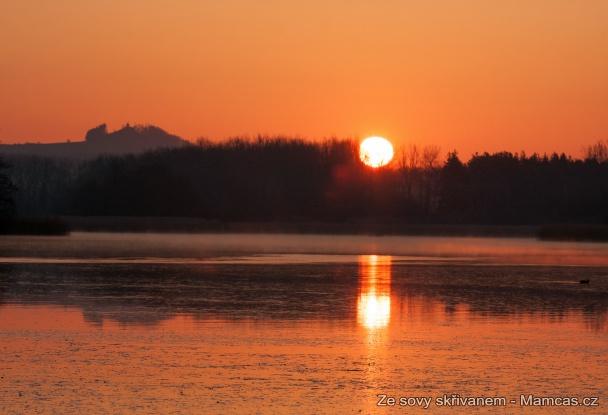 Východ slunce - Příručka skřivana.