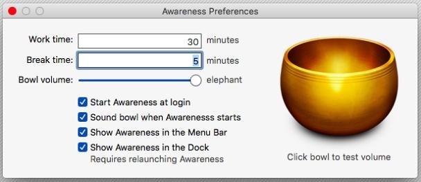 Awareness aplikace.